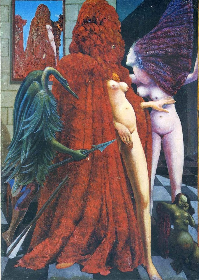 683x960, 203 Kb / картина, Max Ernst, The Robing of the Bride,