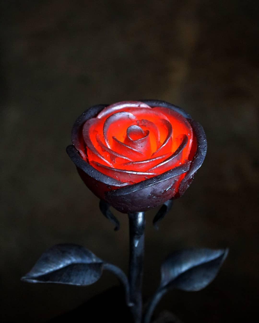 Железные розы фото