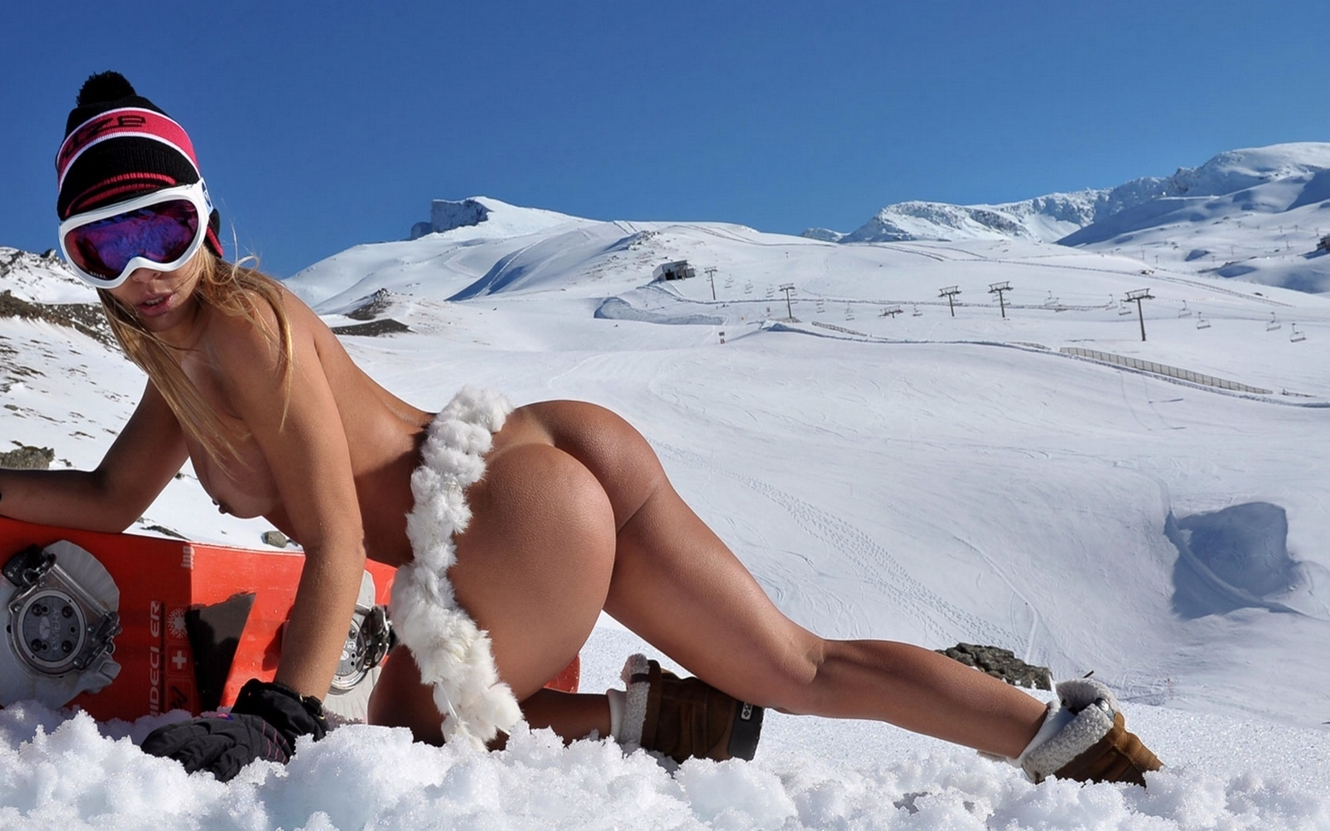 Winter halmi naked