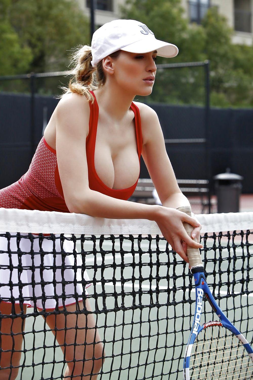 1000x1500, 238 Kb / теннис большой, ракетка, сетка, майка, кепка, Jordan Carver