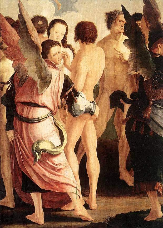 619x866, 116 Kb / Икона, лука, ангел, суд