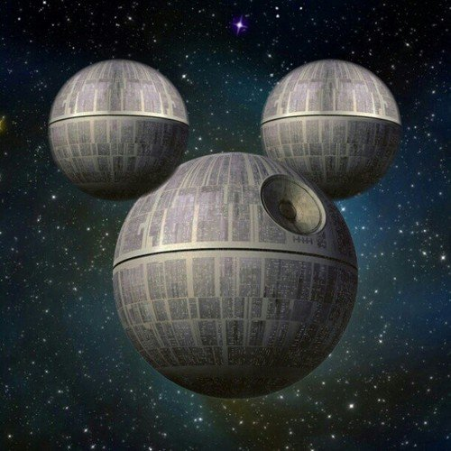 500x500, 56 Kb / star wars, звезда смерти, микки маус, mickey mouse