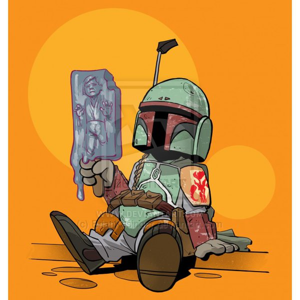 600x600, 53 Kb / star, wars, sw, han, solo, ice, icecream, boba, fett