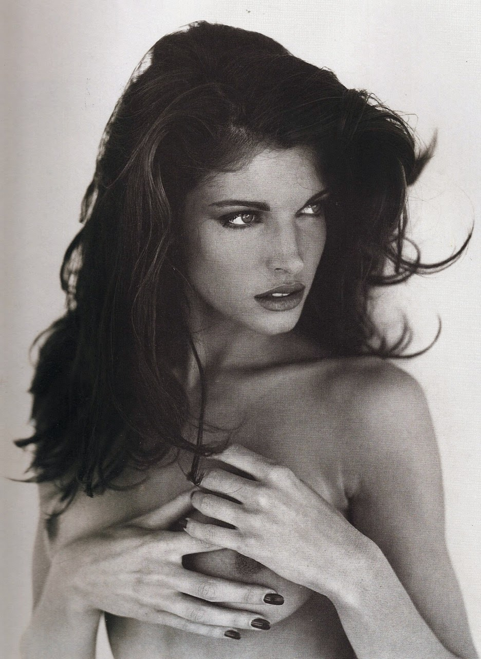 936x1280, 259 Kb / stephanie seymour, стефани сеймур, модель, ч/б