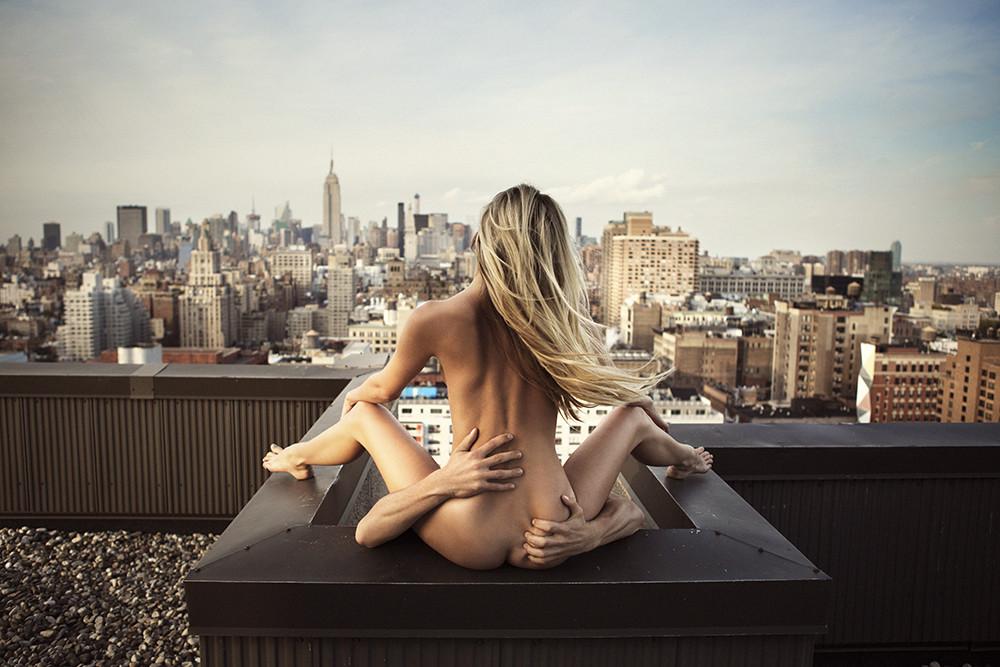Обнаженные Фотографии Города