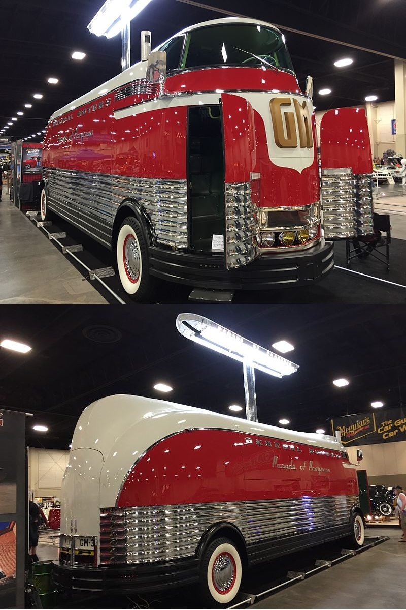 800x1200, 372 Kb / Futurliner, GM, автобус, лайнер